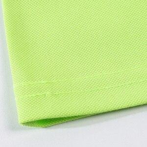 Высококачественные летние однотонные классические рубашки поло с коротким рукавом, индивидуальный дизайн, фото логотип для бизнес-персонала, униформа компании