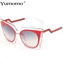 Cat Eye Sunglasses Women New Fashion Luxury Brand Designer Round Sun Glasses Vintage Retro Gradient Female De Sol Colorful