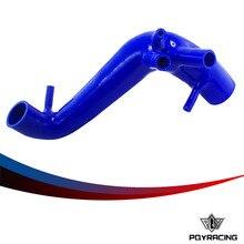 PQY ГОНКИ-Силиконовые Turbo Трубы Шланг Радиатора для VW Polo 1.8 Т FR MK4 SEAT Ibiza Cupra СИНИЙ PQY-SC-0011