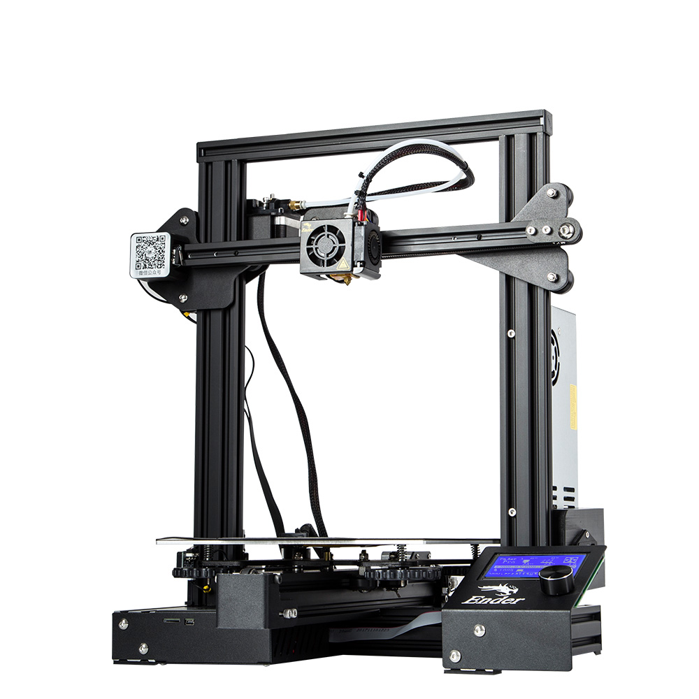 Image 4 - Newest Upgrade Ender 3 Pro CREALITY 3D Printer Kit With Cmagnetic Bulid Sticker Resume Print Power Off Brand Power Supply-in 3D Printers from Computer & Office