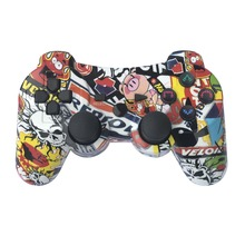 K ISHAKO وحدة تحكم بلوتوث لسوني PS3 غمبد لمحطة اللعب 3 عصا تحكم لاسلكية لسوني بلاي ستيشن 3 وحدة التحكم