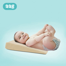AAG Baby Pillow Anti-spit milk Nursing Triangular Slope Infant Newborn Sleep Positioner Support Cushion Memory Foam 20
