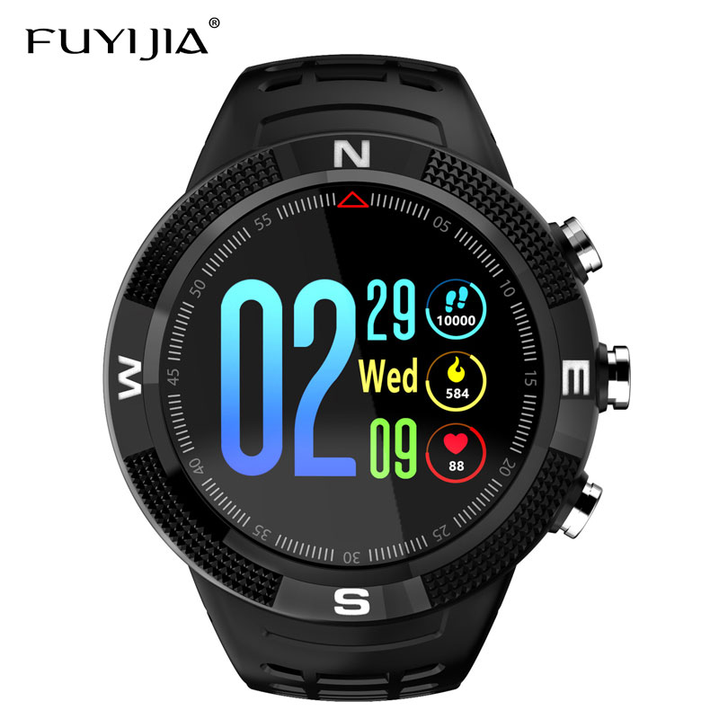 FUYIJIA 2019 New Outdoor Sports Men Watch Brand Multifunction Smart Watch Relogio Waterproof Male Watches GPS Mobile PositioningFUYIJIA 2019 New Outdoor Sports Men Watch Brand Multifunction Smart Watch Relogio Waterproof Male Watches GPS Mobile Positioning