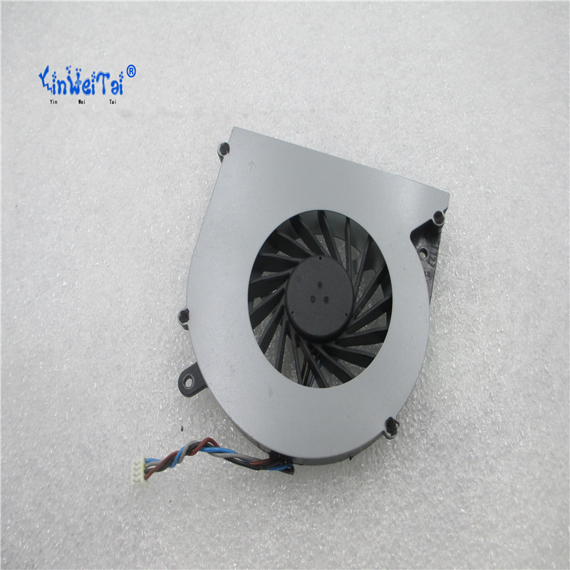 Image 2 - CPU Cooling Fan For Toshiba C850 T03B T05B TOSHIBA L850 L850D C855 C855D laptop KSB0505HB BK48 4pin V000270070 6033B0028701-in Fans & Cooling from Computer & Office