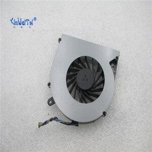 Image 2 - CPU Soğutma Fanı Toshiba C850 T03B T05B TOSHIBA L850 L850D C855 C855D dizüstü KSB0505HB BK48 4pin V000270070 6033B0028701