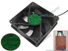 Adda AD0912UX-A7BGL s dc 12v 0.50a 90x90x25mm ventilador de refrigeração do servidor