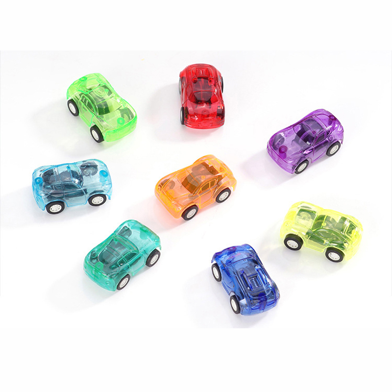 Childrens candy-colored racing car toys mini pull back car Vehicles Toy kids birthday Christmas gift 5X3cm random color