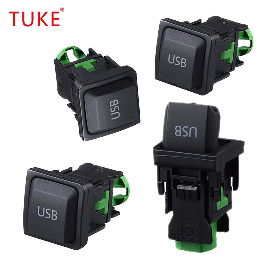TUKE 5KD035726A 5KD 035 726A RCD510 RNS315 <font><b>USB</b></font> Interface Switch Commutateur Pour VW Jetta MK5 Sagitar <font><b>Golf</b></font> MK6 <font><b>Golf</b></font> MK5 Scirocco image