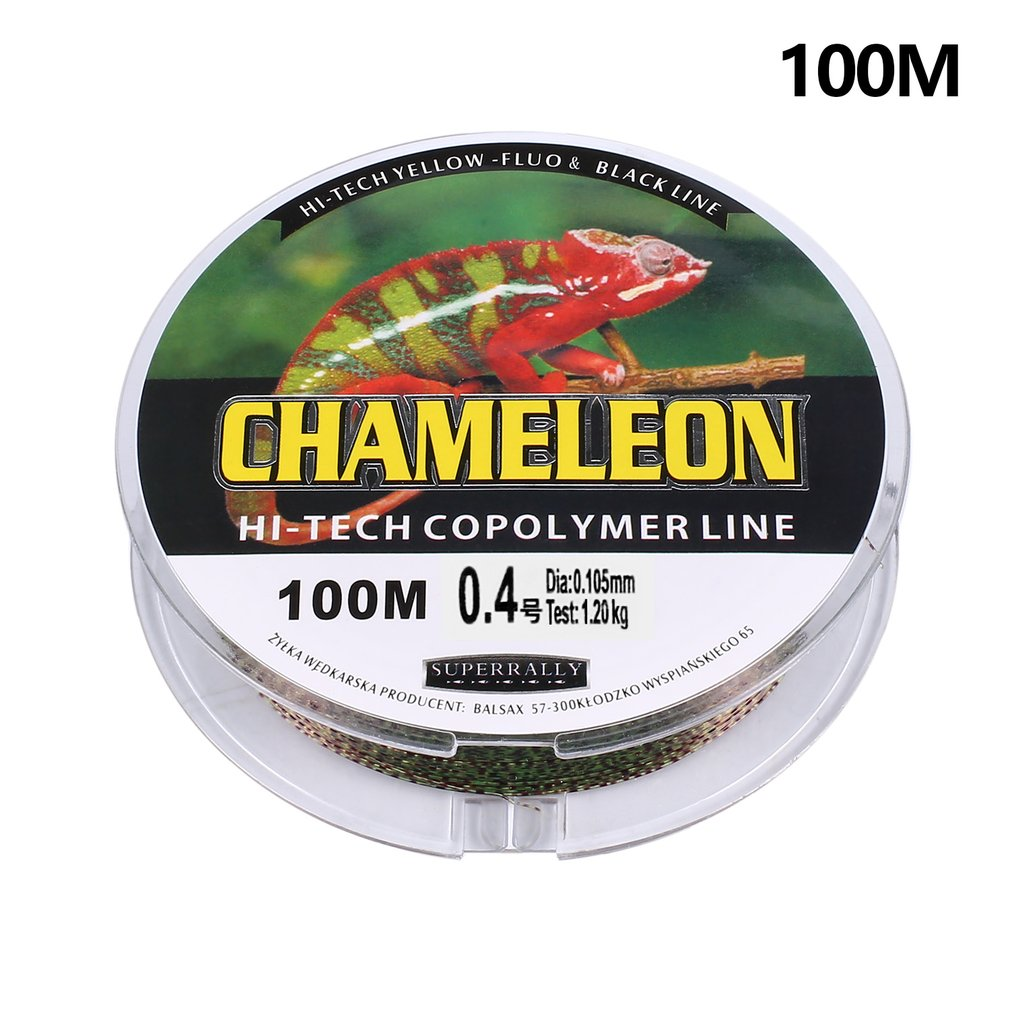 100m Fishing Line Braided Fishing Line Strong Horse Main Line Spotted Nylon Yarn Multifilament Fishing Line