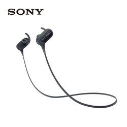 Oryginalny Sony MDR-XB50BS czarny EXTRA BASS sportowe słuchawki douszne Bluetooth MDRXB50BS