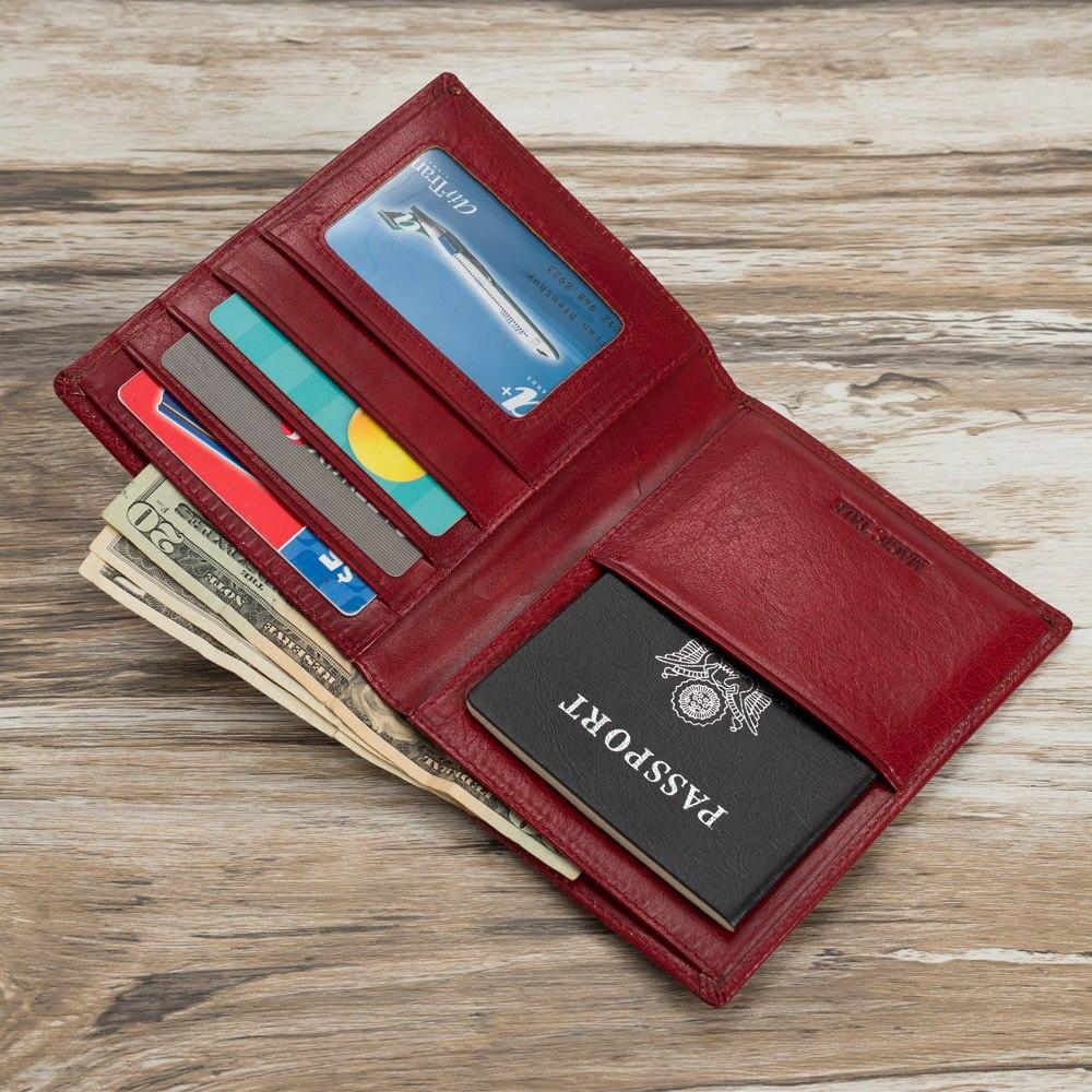 Mitao usine voyage portefeuille passeport organisateur italien rouge légume cuir passeport cuir couvre 6 couleur pour choisir