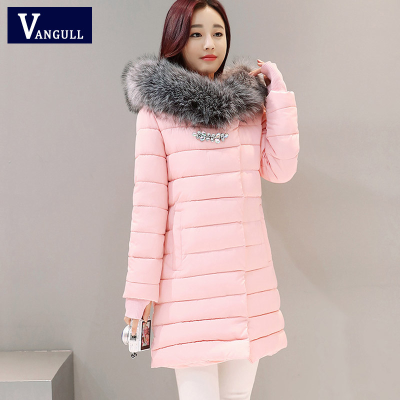 Winter Fashion Cotton Coat 2017New Female Slim Warm Hooded Parkas Female Overcoat High Quality Glooves Women Cottonpadded Jacket 2017 new winter fashion cotton coat female slim warm hooded parkas female overcoat high quality women cotton padded long jacket
