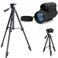أعلى جودة bestguarder WG-50 infrared للرؤية الليلية hd 720 وعاء ir أحادي تلسكوب 6x50 التكبير سجل dvr ل الصيد + ترايبود