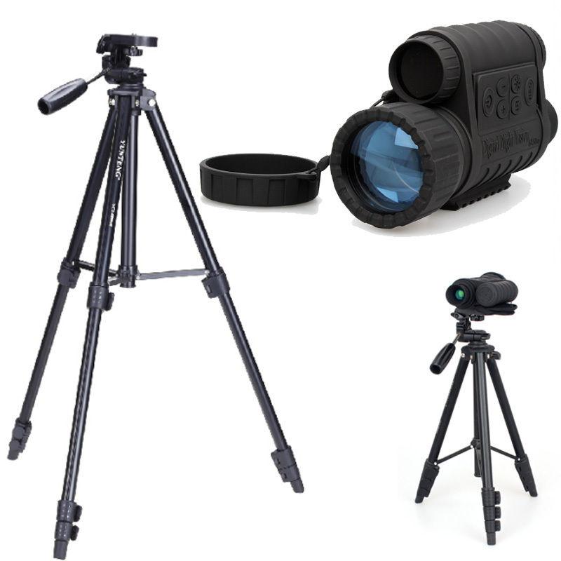 все цены на Top Quality Bestguarder WG-50 Infrared Night Vision HD 720P IR Monocular Telescope 6x50 Zoom Record DVR for Hunting+Tripod онлайн