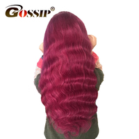 Ombre Wigs Pre Plucked Full Lace Wigs Human Hair With Baby Hair Gossip Lace Front Human Hair Wig For Women Brazilian Remy Hair