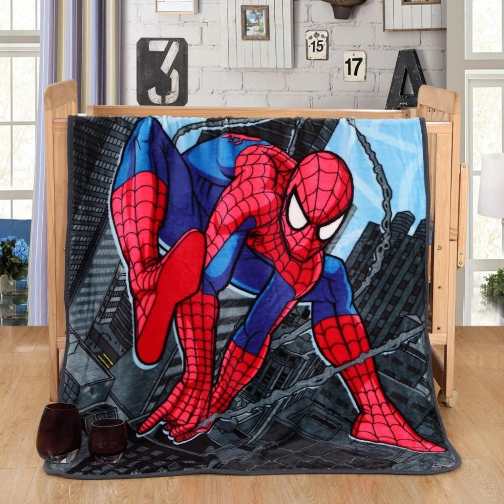 100*140cm Cartoon Blanket Chirdren Multifunction blankets soft coral fleece thin plaids print Blanket on the Bed/Sofa/Car