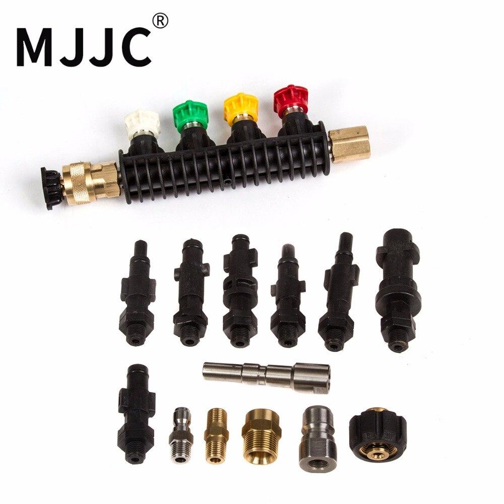 Marca di Acqua di MJJC Lancia Bacchetta Ugello con tutti i connettori per tutti i tipi di Rondelle di Pressione