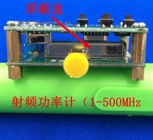 Image 4 - OLED תצוגת RF כוח מטר 1 mhz 8000 mhz יכול סט RF כוח הנחתה ערך דיגיטלי מטר + תכנה /10 w 30DB מחליש