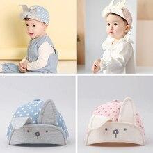 Rabbit Long Ear Peaked Hats 3-24M Visor Baseball Cap BrandBaby Hat For Boys Girls Children