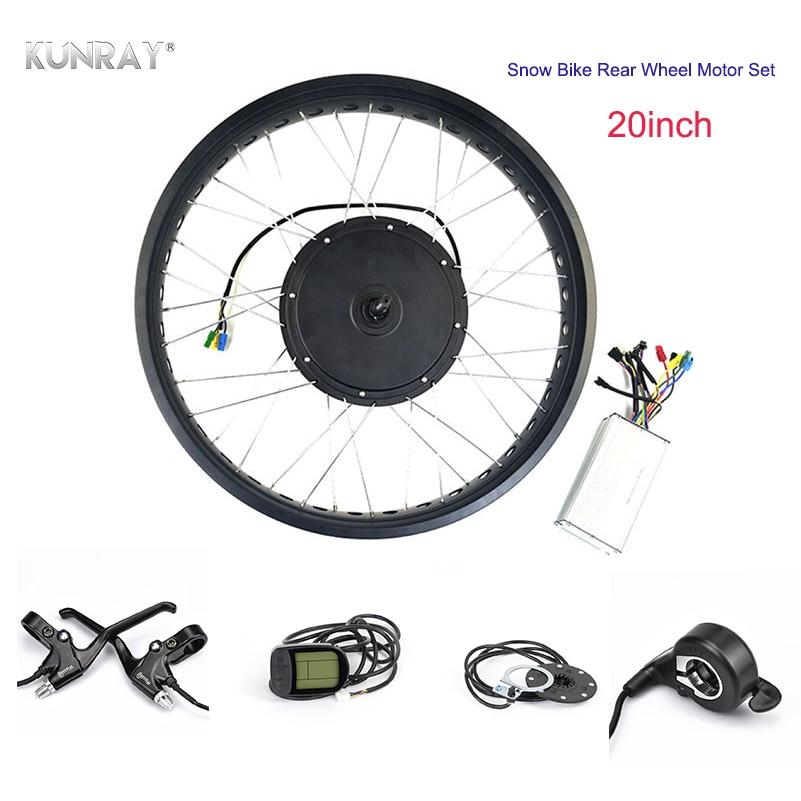 48V1000W fat bike conversion kit 20