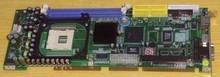 Hs7001 p4 industrial motherboard full length integrated network card