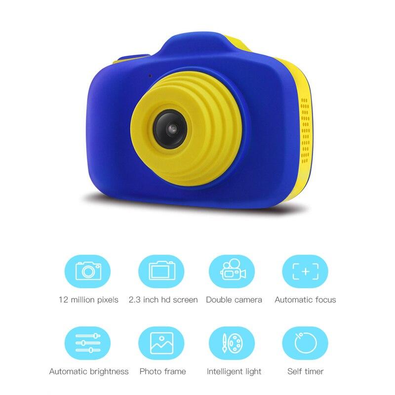 Caméra antichoc pour enfants avec double objectif caméra caméscope pour enfants jouer en plein air BM88