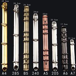 Красочные металлическая машина для скрепления спиралью клип из нержавеющей стали A4 A5 A6 папка с файлом металлический зажим с кольцами для