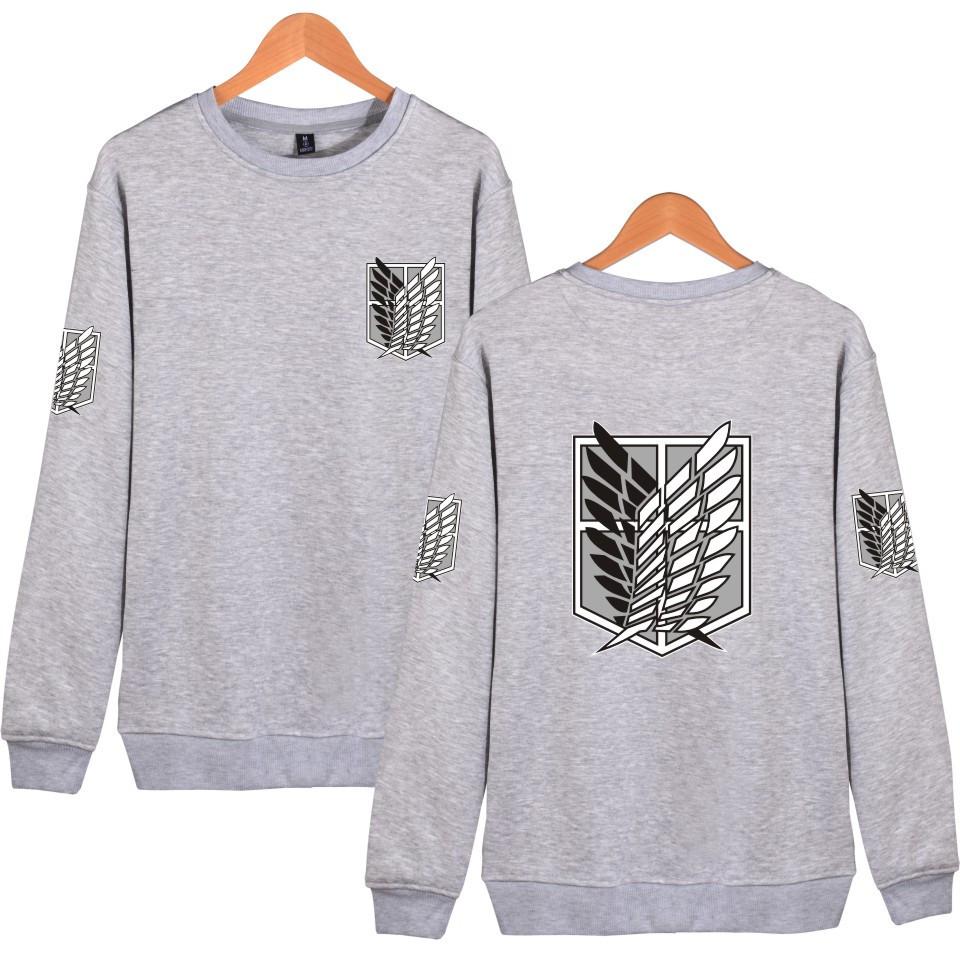 Attack On Titan grey Sweatshirts