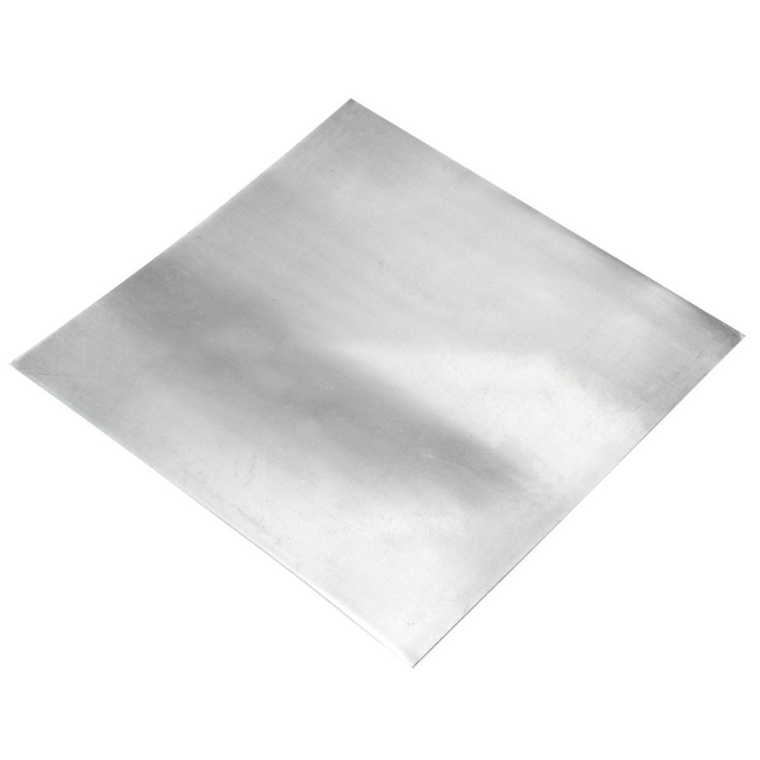 1pc High Purity Pure Zinc Sheet Zn Plate Metal Foil Used in Electronic Goods Auto Parts 100x100x0.5mm  цены