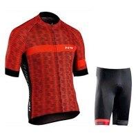 NW Brand Summer Men's Short Sleeve Cycling Clothing MTB bicycle Cycling Jerseys shorts Set Maillot Ropa Ciclismo Bike wear Cloth