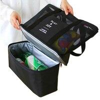 PLEEGA New 2016 Picnic Cooler Bag Portable Food Beer Cooler Hand Bags Baby Diaper Bags Bottles