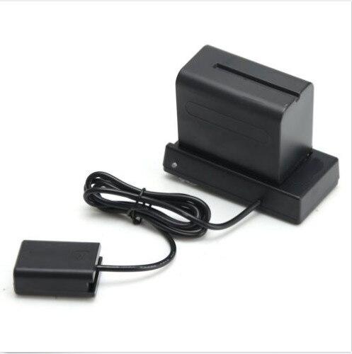 NP F970 do NP FW50 baterii zasilacz gorąca płyta buta dla Sony A7 R II A6000 NEX w Akcesoria do studia fotograficznego od Elektronika użytkowa na  Grupa 1