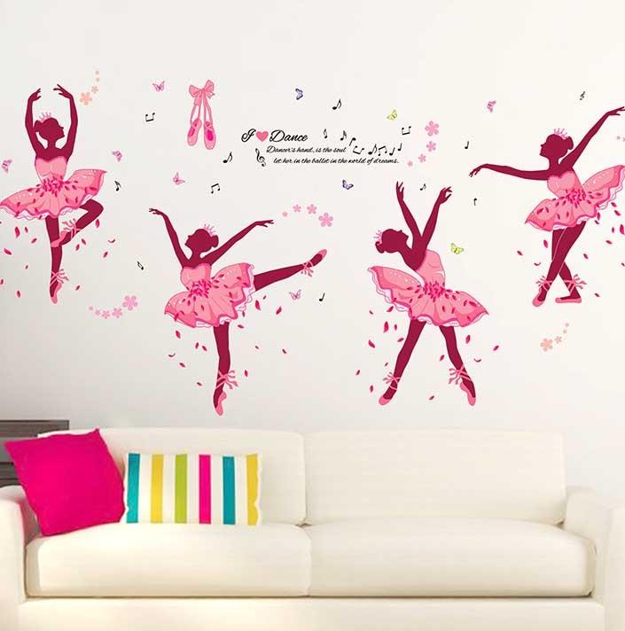 Ballerina wallpaper reviews online shopping ballerina for Ballerina wall mural