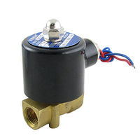 AC 110V 3/8 Direct Acting Water Gas Electric Solenoid Valve