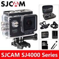 SJ4000 SJCAM פעילות המצלמה ספורט DV צלילה 30 M 2.0 inch מקורי מיני מצלמת וידאו עמיד למים HD 1080 P קסדה קיצונית SJ 4000 מצלמת