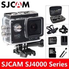 SJCAM SJ4000 Action Camera Sports DV 2.0 inch Diving 30M Waterproof HD 1080P Extreme Helmet mini Camcorder Original SJ 4000 Cam