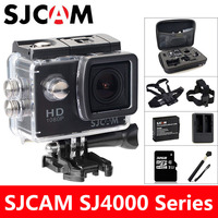 SJCAM SJ4000 Action Camera Sports DV 2.0 inch Diving 30M Waterproof HD 1080P Extreme Helmet mini Camcorder Original SJ 4000 Cam