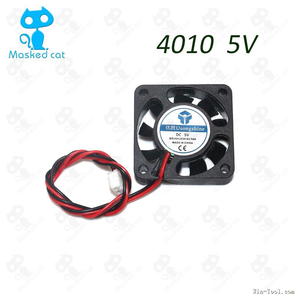 1PCS DC 5V 12V 24V Computer CPU Cooler Mini Cooling Fan 40MM 40x40x10mm Small Exhaust Fan for 3D Printer 4010 2 pin 40x40x10 3 pin 40mm computer cpu cooler cooling fan fans pc 4cm 40x40x10mm dc 12v