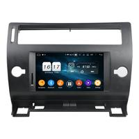 DSP 4GB RAM Octa Core 7 Android 9.0 Car DVD Player for Citroen C4 2005 2011 RDS Radio GPS 4G WIFI Bluetooth 4.2 USB Mirror link
