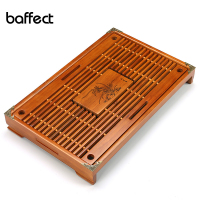 Creative Solid Wood Tea Tray Drainage Water Storage Kung Fu Tea Set Drawer Tea Room Board Table Chinese Tea Room Ceremony Tools
