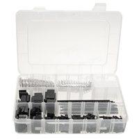 1450 pces 2.54mm fio habitação conector kit crimp pcb pinos headers conjunto para dupont