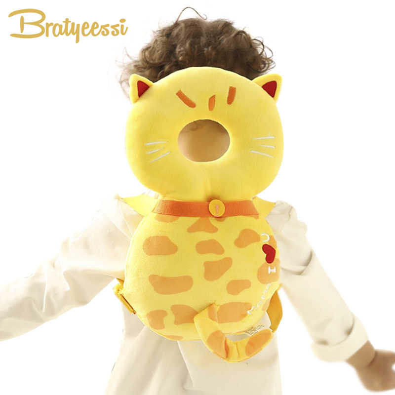 abb42ac05384 New Infant Head Protection Baby Pillow Kids Cartoon Protector Pad Toddler  Baby Backpack Walking Assistant Safety