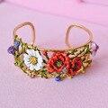 Luxue Flowers Branch Bangles For Women Lovely Party Bracelets Bangles Good Gift