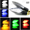 1 Pair Motorcycle LED turn signal lamp street running direction Tuning Parts turn lights turn directions