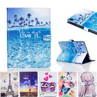 Fashion Cartoon Painted Case Cover For Apple New IPad 9 7 2017 Funda Cases For IPad