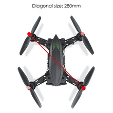 MJX Bugs 6 Professional Racing RC Drone with Camera HD 720P 5.8G FPV and VR Glass Live Video Quadcopter RTF Brushless Motor