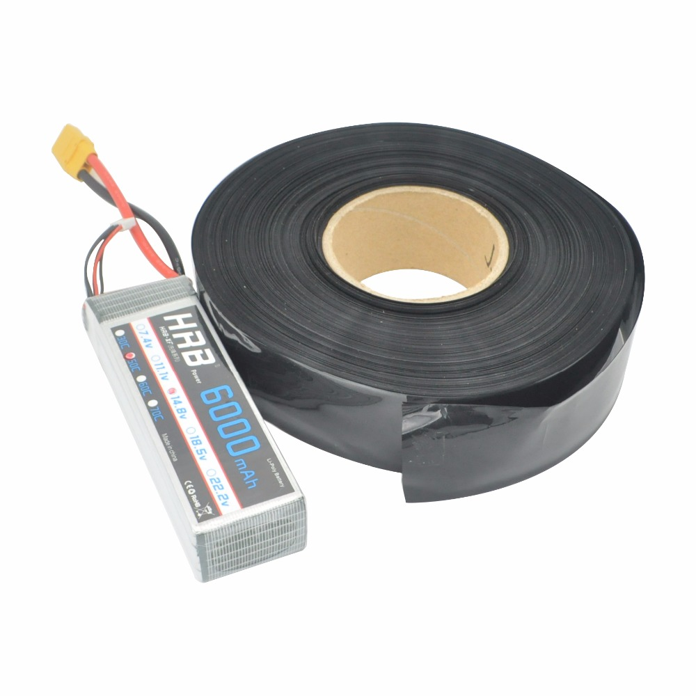 Plastic Wrap Tube Cheap Sale Buy Online Wiring Shrink Black 100cm Shell For Lipo Battery Assortment Heat Tubing Sleeving Wire