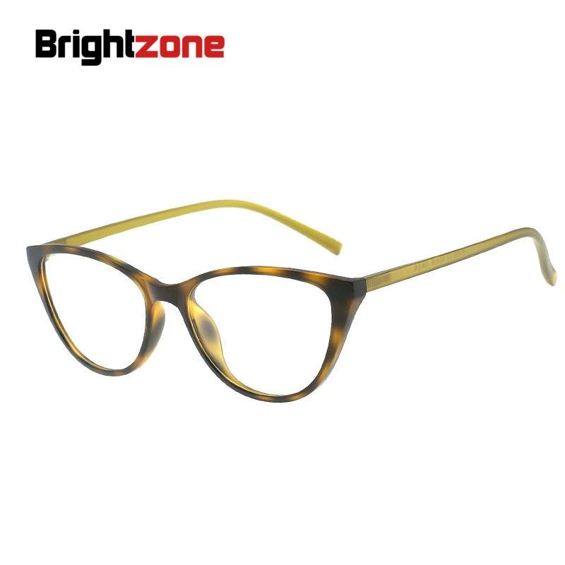 Original Brightzone Frauen Katze-augen Brillen Einschließlich Brillen Linsen Rx Brillen Tr90 Rahmen Rx Rezept Brille Oculos Der Preis Bleibt Stabil Korrektionsbrillen Bekleidung Zubehör