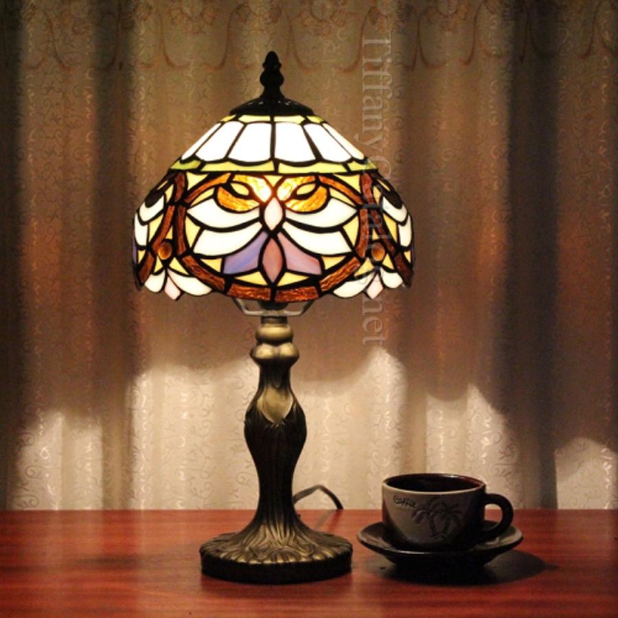 Vente chaude européenne classique lampe de bureau tiffany salon contre chambre lampe de table de mariage