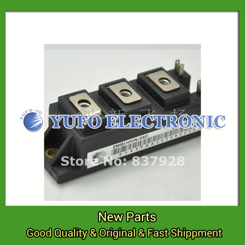 Free Shipping 1PCS  2MBI100N-060 power su-pply / Power Modules original new Special supply Welcome to order YF0617 relay brand new original fuji 2mbi50n 060 50a 600v igbt power modules
